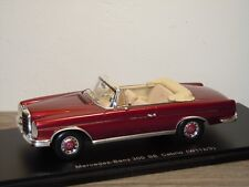 Mercedes 300SE Cabrio W112/3 - Spark 1:43 in Box *34958