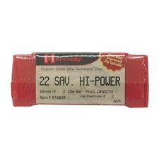 Hornady Ammo Reloading Equipment Series IV DieSet 22 Savage HiPower .227- 546240