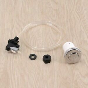 32MM Spa Bath Waste Pneumatic Air Button Garbage Disposal Switch Push Hose