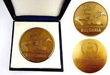 FILA WORLD WRESTLING CHAMPIONSHIP 1991 BULGARIA PARTICIPANT MEDAL ORIGINAL RRR