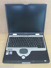 Ordinateur portable Compaq Evo N1020V, pen4 2,4 ghz, ram pas, aucun disque dur, aucun cd-rom, pièces de rechange / réparation
