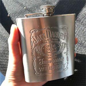 Stainless Steel Hip Flask Pocket Liquor Alcohol Jack Whisky Bottle Vintage Gift