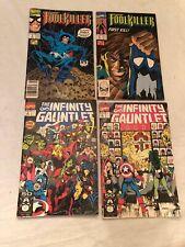 Marvel Comics Foolkiller Infinity Gauntlet Avenger Sleep Walker Lot Of 10 Comics