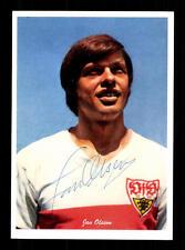 Jan Olsson Autogrammkarte VFB Stuttgart Spieler 70er Jahre Original Signiert
