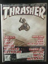 Steve Caballero Powell Peralta January 2000 Thrasher Skateboard Magazine
