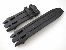 Black Rubber Watch Band Strap For Invicta Reserve 0917 0918 0919 0920