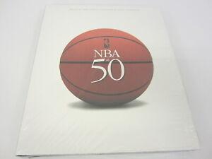 The NBA at 50 Hard Cover Book Sealed Rare
