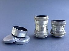 Industar-50 3,5/50 and  RO-51 2.8/20mm lens 16mm movie M27 KIEV-16C KMZ USSR RED