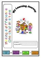Childminder, Childminding, EYFS - Learning Journey Book