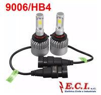 COPPIA (2PZ) LAMPADINA LED 9006 72W 8000Lm COB PER AUTO MOTO CAMPER 6500K