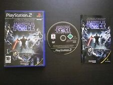STAR WARS LE POUVOIR DE LA FORCE : JEU PLAYSTATION 2 PS2 (complet, envoi suivi)