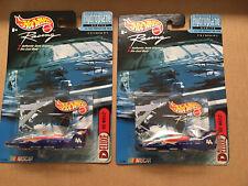 (2) 1/64 Hot Wheels Racing Hydroplane Series Kyle Petty #44 (#2 Of 4)
