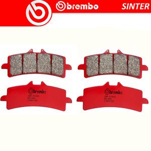 Brake Pads BREMBO Sinter Front For Ducati Monster 1200S Stripe 1200 15 >