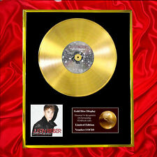 JUSTIN BIEBER UNDER THE MISTLETOE CD  GOLD DISC VINYL LP