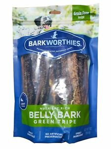 Barkworthies Green Tripe Sticks Treat, 7-Ounce (Pack of 3)