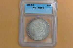 1880-S Morgan Dollar ICG MS66