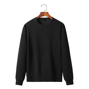 Mens Long Sleeve Sports Sweatshirt Baggy Sweater Workout Casual Running Coat