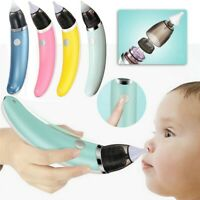 Baby Silicone Nasal Aspirator Electric Vacuum Sucker Nose Mucus Snot Cleaner