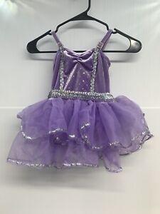 Little Girl's Lavender 5 - 7 Tutu Fairy Pretend Dance Halloween Awish