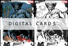 Topps Marvel Collect BEAST INKED Series 1 Week 2 STATIC + TILT 2 CARDS