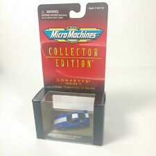 Micro Machines Collector Edition Corvette Series 1996 Grand Sport Blue Mm12