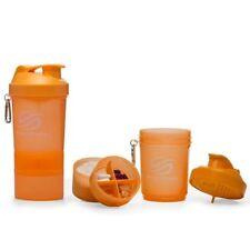 Proteínas y musculación naranja