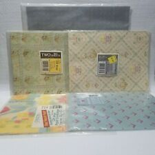5 Vintage Wedding Wrapping Paper Doves Flowers Silver All Occasions Geometric