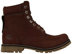 """Timberland Limited Edition Men 6"""" Classic Premium Boot 10 Boot Burgundy"""