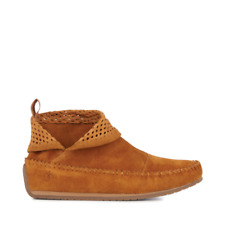 Emu Ghostgum Suede Ankle Boots Hazelnut Size UK 3 EU 36 New & Boxed