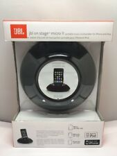 JBL On Stage Micro II Speaker System for iPod / iPhone (Black)