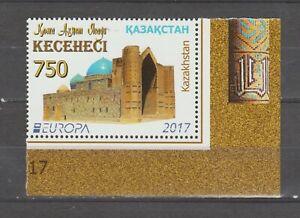 s37090A Kazakhstan Europa Cept MNH 2017 1v Castles
