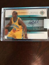 Chris Paul 2005-06 Upper Deck Ultimate Collection Ultimate Signatures Auto