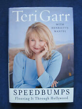 SPEEDBUMPS - FLOORING IT THROUGH HOLLYWOOD - SIGNED by TERI GARR - 1st in Jacket