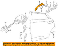 NISSAN OEM 14-16 Rogue-Outside Exterior Door Handle 806404BA0D