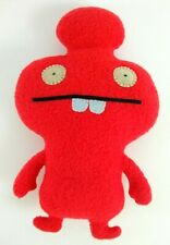 "Ugly Doll Mynus Cozy Monster 2010 Pretty Ugly 7.5"" Super Clean Red Plush Toy"
