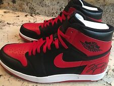 AUTOGRAPHED MICHAEL JORDAN BANNED 1 HIGH THE RETURN 1.5 SHOES NIKE 13 SIGNED COA