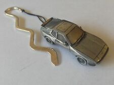 Porsche 944  ref190  FULL CAR on a CURVED bookmark with cord