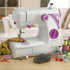 Sew-Lite Sewing Machine Portable Mains Powered Foot Pedal 19 Pattern Gift NEW