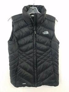 The North Face Black 550 Down Vest Women's S