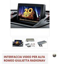 Interfaccia Grafica Video Per Retrocamera Radionav Giulietta Alfa Romeo