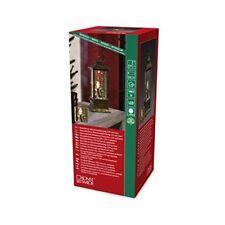 Konstsmide 2888-000 LED Snow Lantern with Santa Scene, Water FilledFor Indoor U