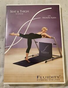 Fluidity Fitness Evolved Seat & Thigh Video DVD With Michelle Austin