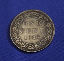 1907H large cent Canada - a nice coin