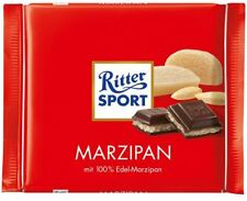 8 x RITTER SPORT MARZIPAN CHOCOLATE - CANDY FROM GERMANY - RITTERSPORT