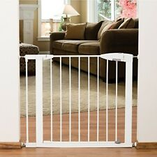 Safety Gate Extention Baby Door Toddler Pet Kid Stair Through Walk Fence Child