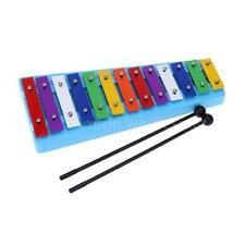 13 Bar Kid's Glockenspiel Xylophone Colorful Note Toy for Toddler Children D6H6
