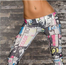 Women Colorful Skinny Jeggings Sexy Stretchy Pants Soft Slim Leggings Pencil US