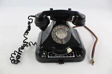 Vintage BEL SET Dial Up Black BAKELITE TELEPHONE w/ Rotary Dial No.44 MKII
