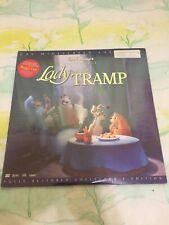 Walt Disney's Lady and The Tramp CAV Widescreen Laserdisc Set Collectors Edition