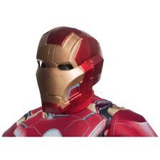 Iron Man Mark 43 Helmet Adult Superhero Costume Mask Halloween Fancy Dress